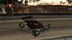 XCALIBUR CD 4.0 XS-XL RACE Edition para GTA San Andreas