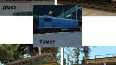 Modificação da estrada de ferro III para GTA San Andreas