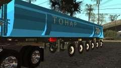 Doze-roda semi-reboque-basculante TONAR 95231 para GTA San Andreas