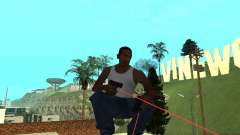 Laser Weapon Pack para GTA San Andreas