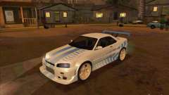 Nissan Skyline GT-R R34 2 Fast 2 Furious