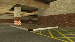 A nova garagem subterrânea pela polícia de Los S