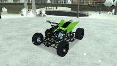 Kawasaki Monster Energy Quad para GTA San Andreas