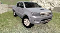 Toyota Hilux branco para GTA San Andreas
