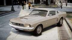 Shelby GT500 1967 para GTA 4