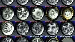 Wheels Pack NFSPS II