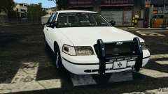 Ford Crown Victoria Police Unit [ELS] para GTA 4