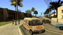 GÁS 22172 ambulância
