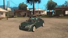 Hyundai Genesis Coupe para GTA San Andreas