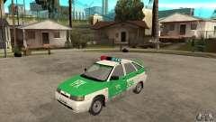Polícia YPX VAZ-2112 para GTA San Andreas