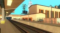 As plataformas elevadas em estações ferroviárias