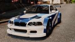 BMW M3 GTR MW 2012 para GTA 4