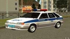VAZ 2114 polícia DPS