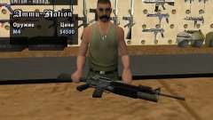 M16 com um M203