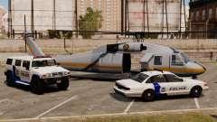 Estados Unidos Departamento de segurança interna para GTA 4