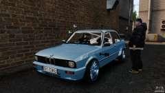 BMW E30 V8 Drift para GTA 4