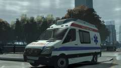 Mercedes-Benz Sprinter Azerbaijan Ambulance v0.1