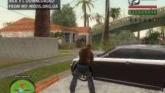 Piss Piss mod para GTA San Andreas