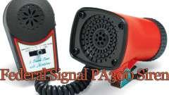Sirene Federal PA300 para GTA 4