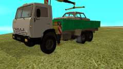 KAMAZ 53212 manipulator