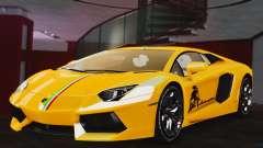Lamborghini LP700-4 Aventador 2012 олива para GTA 4