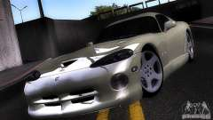 Dodge Viper branco para GTA San Andreas