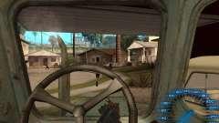 Atrás do volante para GTA San Andreas