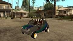 Mini, Cooper, prata para GTA San Andreas
