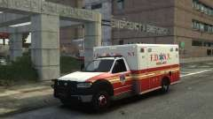 Ford F-350 Ambulance FDNY para GTA 4