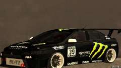 Mitsubishi Lancer Evolution X Monster Energy