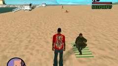 Ação de COD Modern Warfare 2 para GTA San Andreas