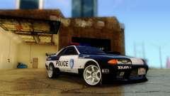Nissan Skyline R32 Police