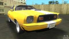 Ford Mustang Cobra 1976 para GTA Vice City