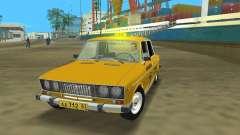 VAZ 2106 táxi v 2.0 para GTA Vice City