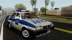 VAZ 21099, polícia para GTA San Andreas