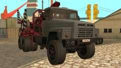 Transportador de madeira KrAZ-255