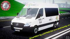 Mercedes-Benz Sprinter Euro 2012 белый para GTA 4