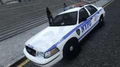Ford Crown Victoria NYPD 2012 para GTA 4