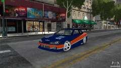 Nissan Silvia S15 Tokyo Drift para GTA 4
