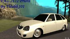 Lada Priora 2172 Hatchback para GTA San Andreas