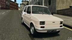 Fiat 126 Classic para GTA 4