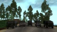 GAZ 66 Parade