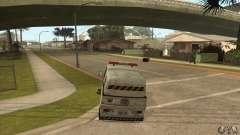 Varredor de rua de trabalho para GTA San Andreas