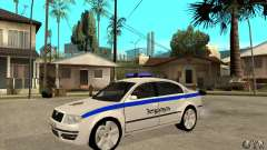 Skoda SuperB GEO Police para GTA San Andreas