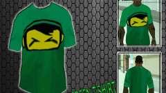 Nova t-shirt verde para GTA San Andreas