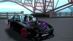 Nissan 240SX Team Top Flight para GTA San Andreas