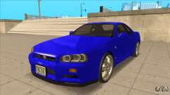 Nissan Skyline R34 FNF4