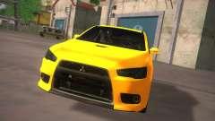 Mitsubishi Lancer Evo X Tunable para GTA San Andreas