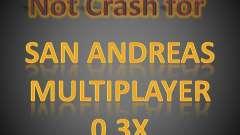 Not Crash for SAMP 0.3x