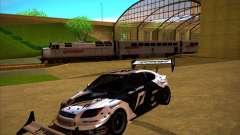Scion tC preto para GTA San Andreas